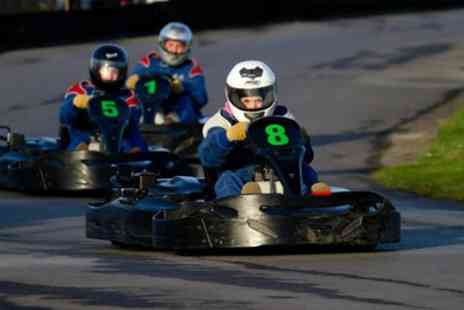 West Country Karting - 80 Karting Laps for Up to Four - Save 75%