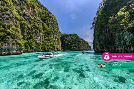 Great Pacific Travels - Ten nights Phuket holiday with breakfast, welcome drink, one Thai massage each, complimentary cocktail and return flights - Save 35%