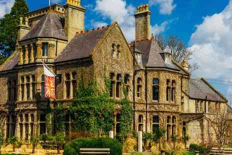 Rudloe Arms Hotel - 1 or 2 Nights Stay for Two with Breakfast, 6 Course Dinner and Prosecco - Save 53%