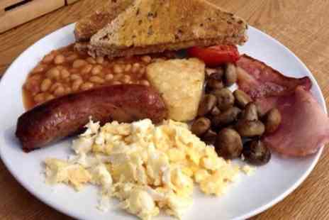 THE KITCHEN - Full English or Vegetarian Breakfast with Hot Drink for Two or Four - Save 0%