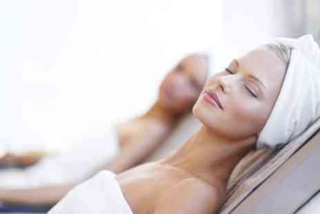Salon Spa - Use of Facilities with Two 25 Minute Treatments and Bubbly for One or Two - Save 58%