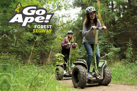 Go Ape - Forest Segway Adventure for Two with Go Ape - Save 0%
