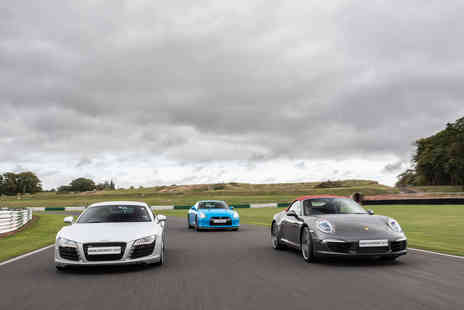 Virgin Experience Days - Triple Supercar Blast plus High Speed Passenger Ride and Photo - Save 45%