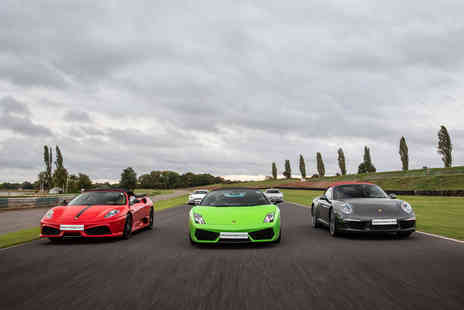 Virgin Experience Days - Five Supercar Blast plus High Speed Passenger Ride and Photo For Weekday - Save 46%