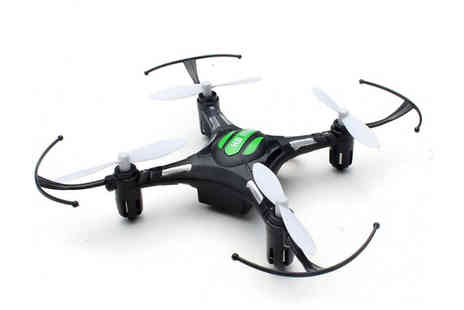 Good2items - Mini Rc Drone Quadcopter With Transmitter Choose Two Colours - Save 86%
