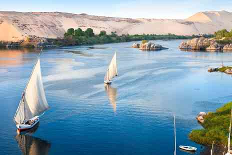 2TemptU Travel - Five Star Luxury seven Nights Nile cruise with Three nights Cairo stay - Save 0%