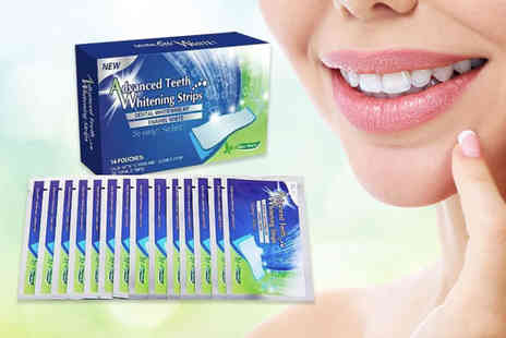 KAV Plus - Pack of 28 teeth whitening strips - Save 90%