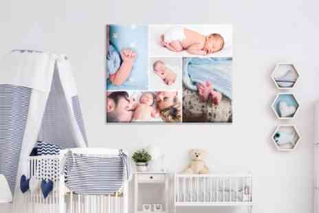 Grange Print - One or Two Extra Large Personalised Canvas Prints in Choice of Size - Save 92%