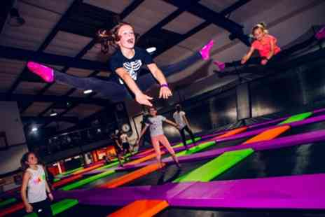 Atmosphere Trampoline Park - Two Hour Trampoline Park Entry for One, Two or Four - Save 38%