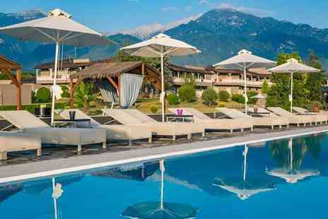 Dion Palace Resort & Spa - Five Star Beachfront Resort with Mount Olympus Views for two - Save 54%