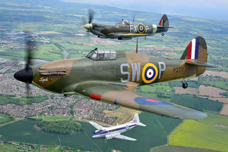 Virgin Experience Days - Fly Alongside a Spitfire and Battle of Britain Hurricane  - Save 0%