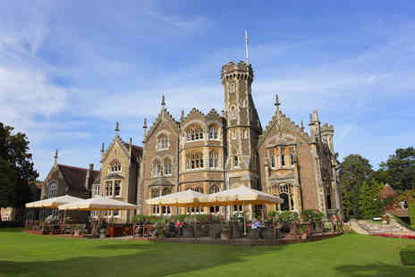 The Oakley Court - One Night Luxury Riverside Escape with Dinner and Visit to Windsor Castle for Two - Save 0%