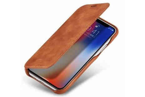 Good2items - Leather Magnetic Phone Case with Wallet And Stand Choose Three Colours And Seven Styles - Save 80%