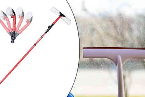 Home Season - 3.5m Telescopic Window Cleaning Kit - Save 73%