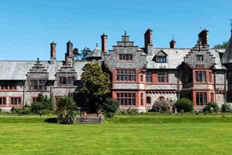 Caer Rhun Hotel Management Ltd - Snowdonia escape including bubbly and afternoon tea - Save 54%