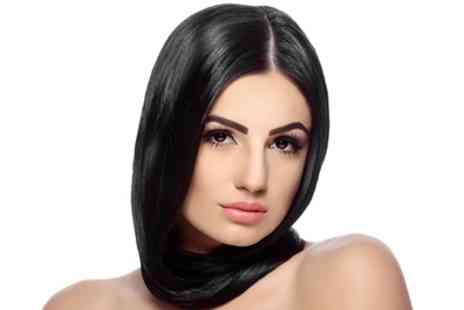 D&G Hair Salon - Brazilian Blow Dry Keratin Treatment with Collagen - Save 64%