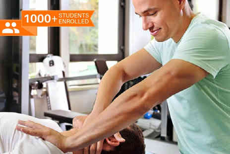Blue Mountain - Online sports massage course - Save 89%