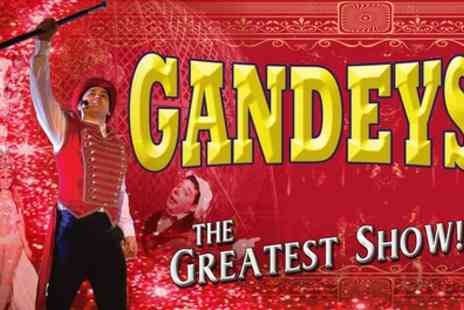 Exchange Events - One side view ticket to Gandeys Circus on 8 To 16 March - Save 51%