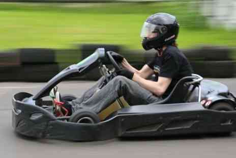 West Country Karting - Get revved up with 80 karting laps for one person - Save 76%