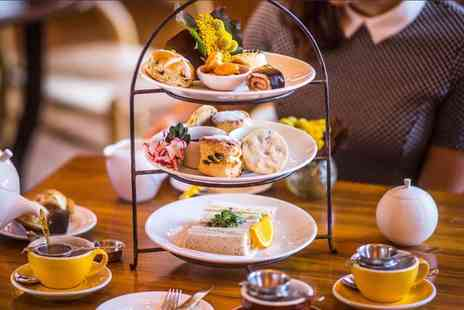 Abbey Hotel - Traditional afternoon tea for two people with a glass of Prosecco each - Save 37%