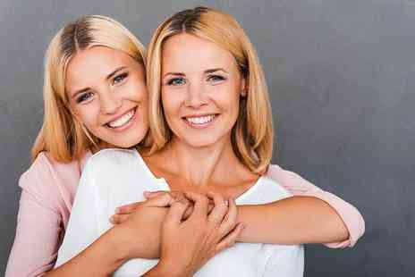 Portraits to Go Photography - Professional mother and daughter or mother and son photoshoot including a 6 Inch x 8 Inch mounted print - Save 87%