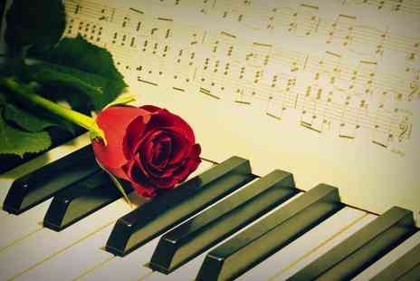 Candlelight Concerts - Ticket to a Valentines Piano Recital by candlelight with a programme - Save 61%