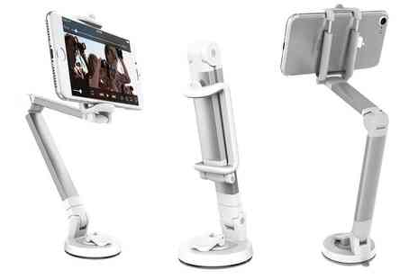 Ckent - Desk mount pop up universal smartphone holder - Save 68%