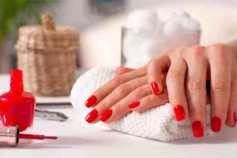 Pamper Hair and Beauty - Manicure or Pedicure or Both - Save 40%