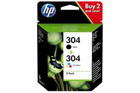 Raion - Original HP 304 Printer Black and Tri Colour Ink Cartridges Two Pack With Free Delivery - Save 39%