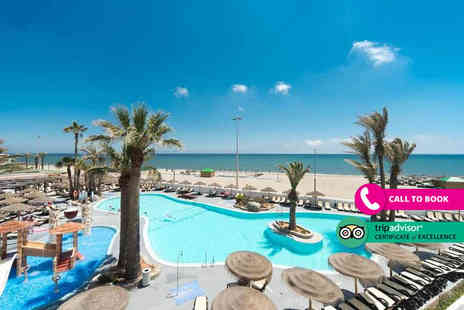 Book It Now Holidays - Four Star Five Nights all inclusive Almeria, Spain getaway with return flights - Save 22%