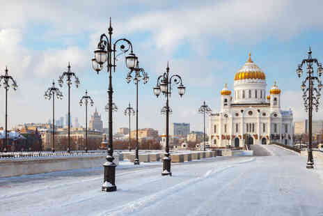 Weekender Breaks - Four nights Moscow and St Petersburg trip with train between the cities and return flights - Save 22%