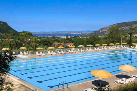 Weekender Breaks - Three nights half board Lake Garda holiday with 3 hour complimentary spa access, spa kit, 30 minute massage and a wine tasting - Save 28%