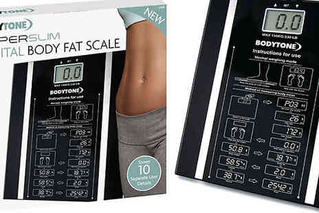 Home Season - BodyTone BMI Fat Analyser Scale - Save 70%