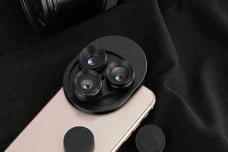 Ckent - 3 in 1 smartphone camera lens - Save 68%