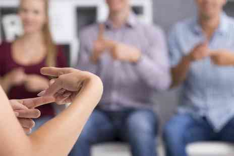 Educator London - British Sign Language level one and level two online course - Save 89%