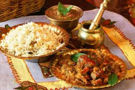 The Spice Tree - Two Course Indian Meal with Rice or Naan and Drink for Two or Four - Save 56%