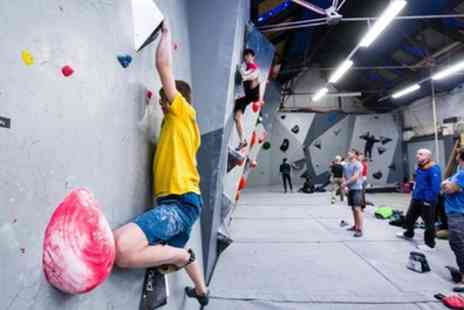 Rock Over Climbing - One Hour Indoor Climbing Induction for Up to Six - Save 40%