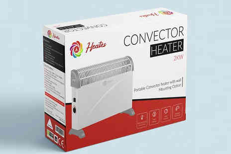 Fusion - Heates 3 Power Convector Radiator Heater - Save 80%