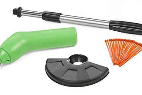Shop Story - Cordless Zip Trimmer with Telescopic Handle Light - Save 78%