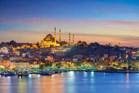 Weekender Breaks - Four Star Two nights Istanbul stay with breakfast and return flights - Save 25%