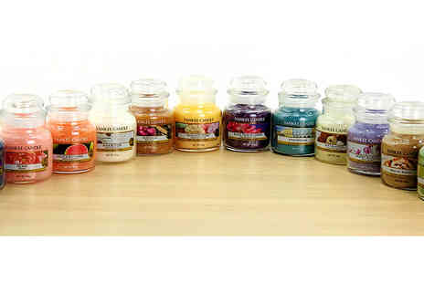 Yankee Bundles - Six assorted Yankee Candle classic small jars - Save 67%
