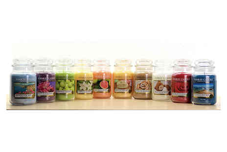 Yankee Bundles - Six assorted Yankee Candle classic large jars - Save 55%