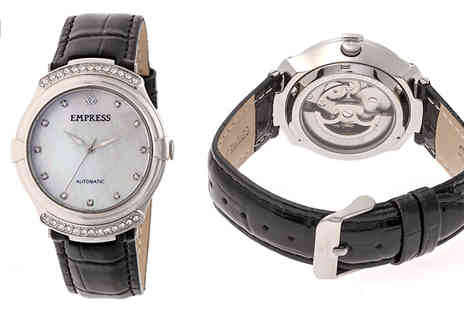 Ideal Deal - Ladies Empress Francesca Watches Choose from 6 Designs - Save 91%