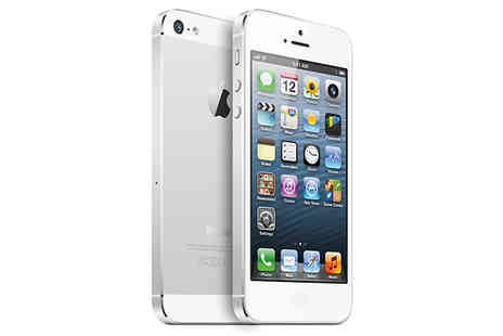 Rhinotek - Apple iPhone 5 Unlocked 16GB or 32GB Choose between Black or White - Save 74%