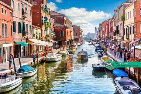 Crystal Travel - Four Star Two nights Venice break with breakfast, sightseeing tour and return flights - Save 24%