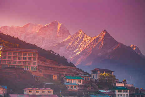Luxury Holidays Nepal - 15 day Everest Base Camp Trek with accommodation, three night stay in Kathmandu, internal flights and transfers - Save 62%