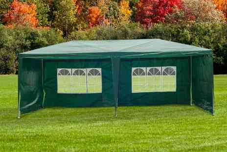 Mhstar - 3x6m waterproof outdoor gazebo choose from two colours - Save 64%