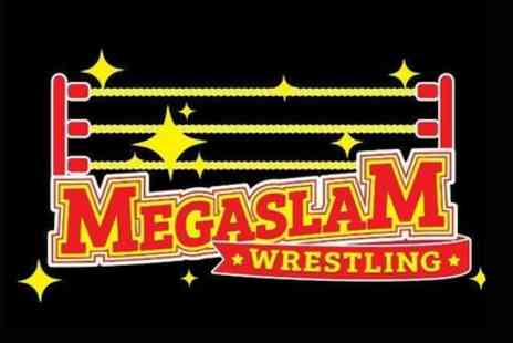 Megaslam American Wrestling - One adult or family ticket for four to see Megaslam American Wrestling on 9 March 2019 To 12 May 2019 - Save 43%