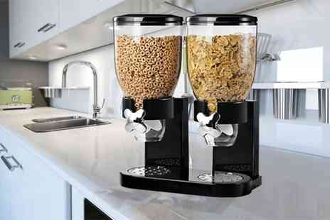 Groupon Goods Global GmbH - Ryori 3.5 Litre Single Or Double Table Cereal Dispenser - Save 77%