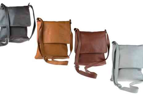 Groupon Goods Global GmbH - Cross Body Calf Leather Shoulder Bag - Save 44%
